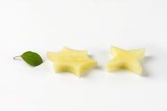 Apple stars Royalty Free Stock Photography