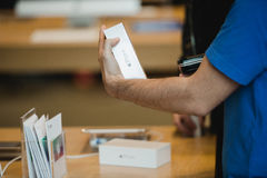 Apple starts iPhone 6 sales worldwide Royalty Free Stock Image