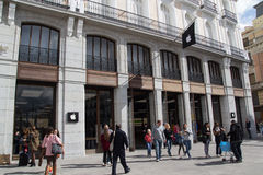 Apple Store à Madrid photographie stock libre de droits