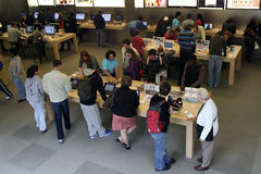 Apple Store à New York Images stock