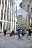 Apple Store à New York City Image stock