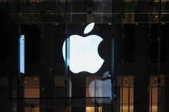 Apple Store - Πέμπτη Λεωφόρος NYC Στοκ φωτογραφία με δικαίωμα ελεύθερης χρήσης
