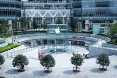 Apple Store σε Pudong, Σαγκάη Στοκ φωτογραφίες με δικαίωμα ελεύθερης χρήσης