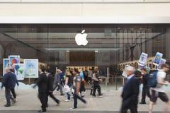 Apple Store στην Αδελαΐδα Στοκ εικόνα με δικαίωμα ελεύθερης χρήσης