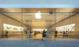 Apple Store στην Αδελαΐδα Στοκ Φωτογραφία