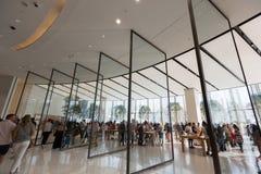 Apple Store στη λεωφόρο του Ντουμπάι, Ηνωμένα Αραβικά Εμιράτα Στοκ φωτογραφίες με δικαίωμα ελεύθερης χρήσης