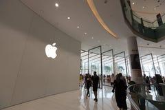 Apple Store στη λεωφόρο του Ντουμπάι, Ηνωμένα Αραβικά Εμιράτα Στοκ φωτογραφία με δικαίωμα ελεύθερης χρήσης