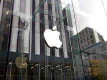 Apple Store στη Νέα Υόρκη, ΗΠΑ Στοκ Φωτογραφίες