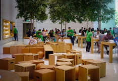 Apple Store στον οπωρώνα Rd, Σιγκαπούρη Στοκ φωτογραφίες με δικαίωμα ελεύθερης χρήσης