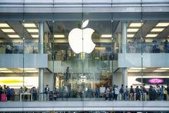 Apple Store, Χονγκ Κονγκ Στοκ Φωτογραφία