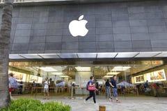 Apple Store Χονολουλού Χαβάη Στοκ εικόνα με δικαίωμα ελεύθερης χρήσης