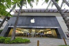 Apple Store Χονολουλού Waikiki Στοκ Εικόνες