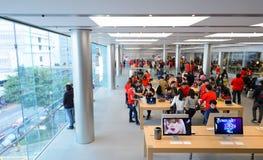 Apple Store Stockfoto