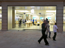 Apple Store Stock Image