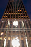 Apple Store. On Fifth Avenue - New York, December 04th, 2011 Royalty Free Stock Image