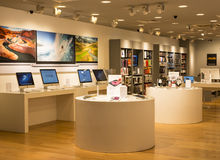 Apple Store Stockfoto