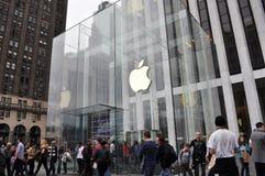 Apple Store Imagenes de archivo