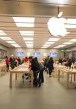 Apple Store Fotografía de archivo libre de regalías