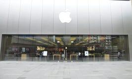 Apple Store Foto de archivo libre de regalías