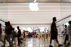 Apple Store Fotografia de Stock Royalty Free