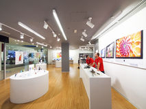 Apple Store Fotografie Stock