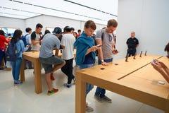 Apple Store Στοκ Εικόνες
