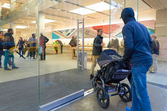 Apple Store Stockbilder
