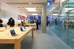 Apple Store Lizenzfreie Stockfotos