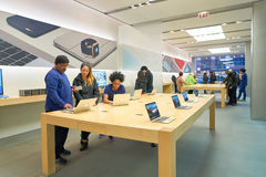 Apple Store Στοκ Φωτογραφία