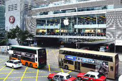 Apple Store Apple Store a ouvert son premier magasin très attendu en Hong Kong Photos stock