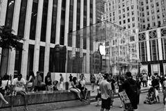 Apple Store, 5ο Av Στοκ Φωτογραφίες
