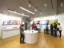 Apple Store Belgrado Immagini Stock Libere da Diritti