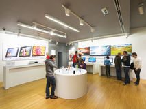 Apple Store Belgrado Imagens de Stock Royalty Free