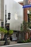 Apple Store bij het Bosje - Los Angeles, de V.S. Royalty-vrije Stock Afbeelding