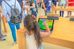 Apple Store caçoa o app Imagem de Stock Royalty Free