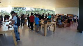 Apple Store California almacen de metraje de vídeo