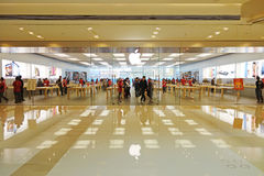 Apple store in Chengdu Stock Photography