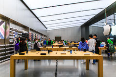 apple store in china stock photography