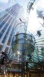 Apple Store cuba na 5a avenida, NYC Imagens de Stock
