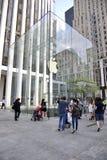 Apple Store in de Stad van New York Stock Afbeelding