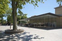 Apple Store em Aix-en-Provence, França Fotografia de Stock