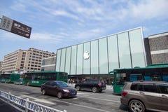 Apple Store en Hangzhou Foto de archivo libre de regalías