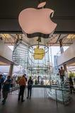 Apple Store en Hong-Kong Imágenes de archivo libres de regalías