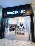 Apple Store en la plaza Yat bajo, Kuala Lumpur, Malasia Fotografía de archivo libre de regalías