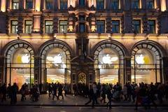 Apple Store en Londres Imágenes de archivo libres de regalías