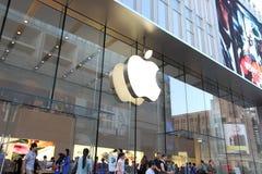 Apple Store en Shangai Imágenes de archivo libres de regalías