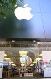 Apple Store, fila de Bethesda, Maryland Fotografía de archivo
