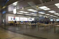 Apple Store Front Royalty Free Stock Image