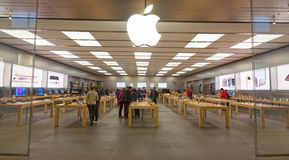Apple Store Front Stock Photos
