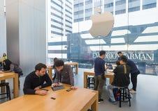 Apple Store Genius Bar, Hong Kong Stock Photography